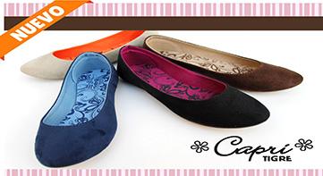 Balllerinas Coleccion Lili marca Capri