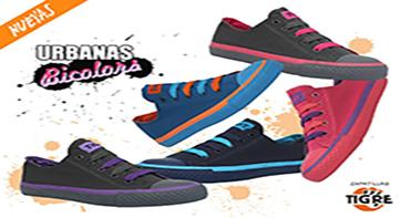 Zapatillas Tigre Urbanas Bicolors
